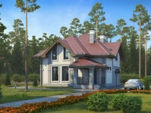 Проект дома 158 м²