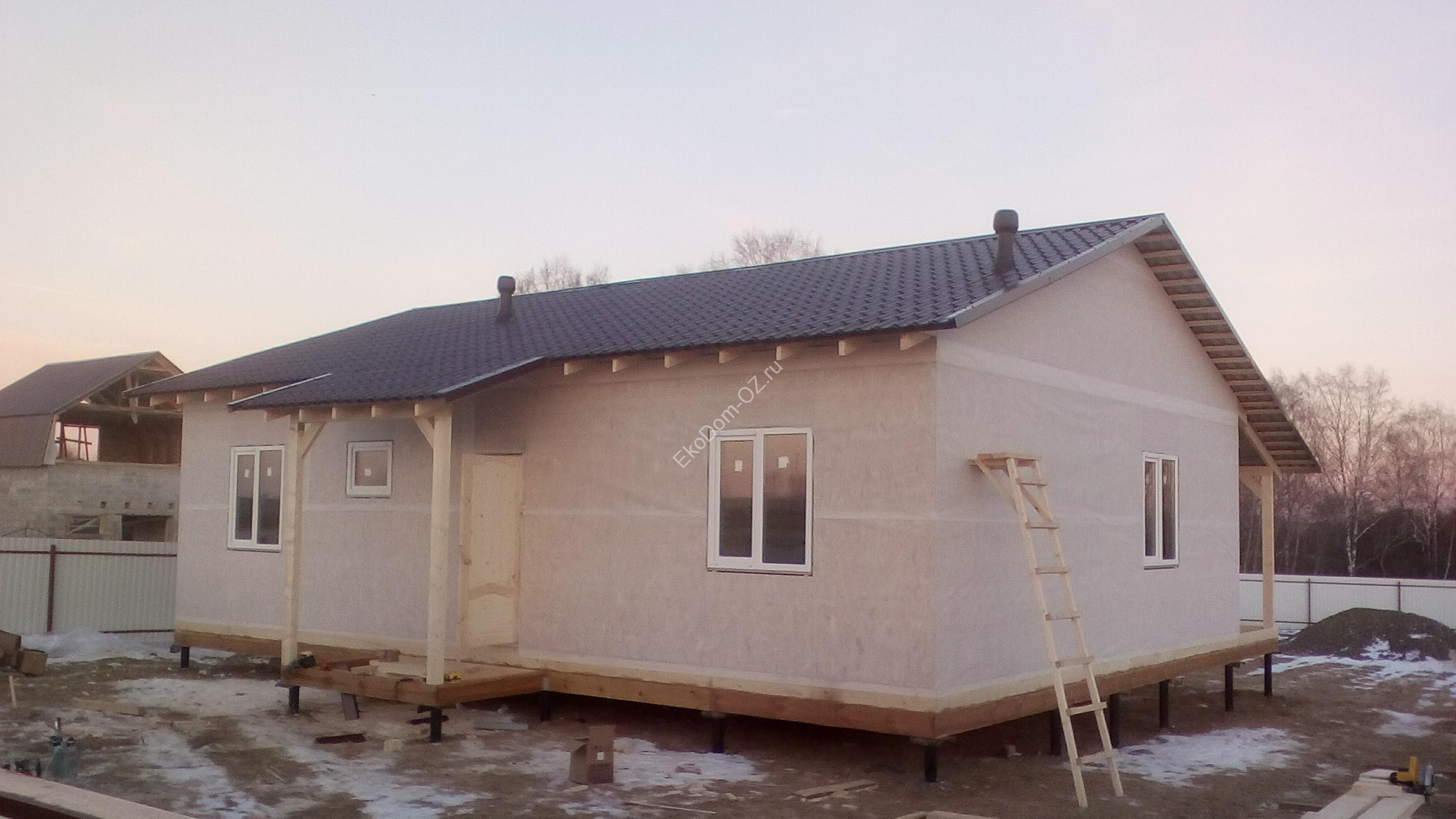 Отделка фасада дома из пенопласта видео