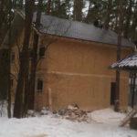 Дом для персонала из Сип панелей в д. Судимля, Серпуховский район
