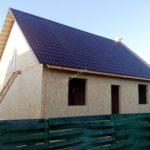 Дом из СИП панелей в Белавино