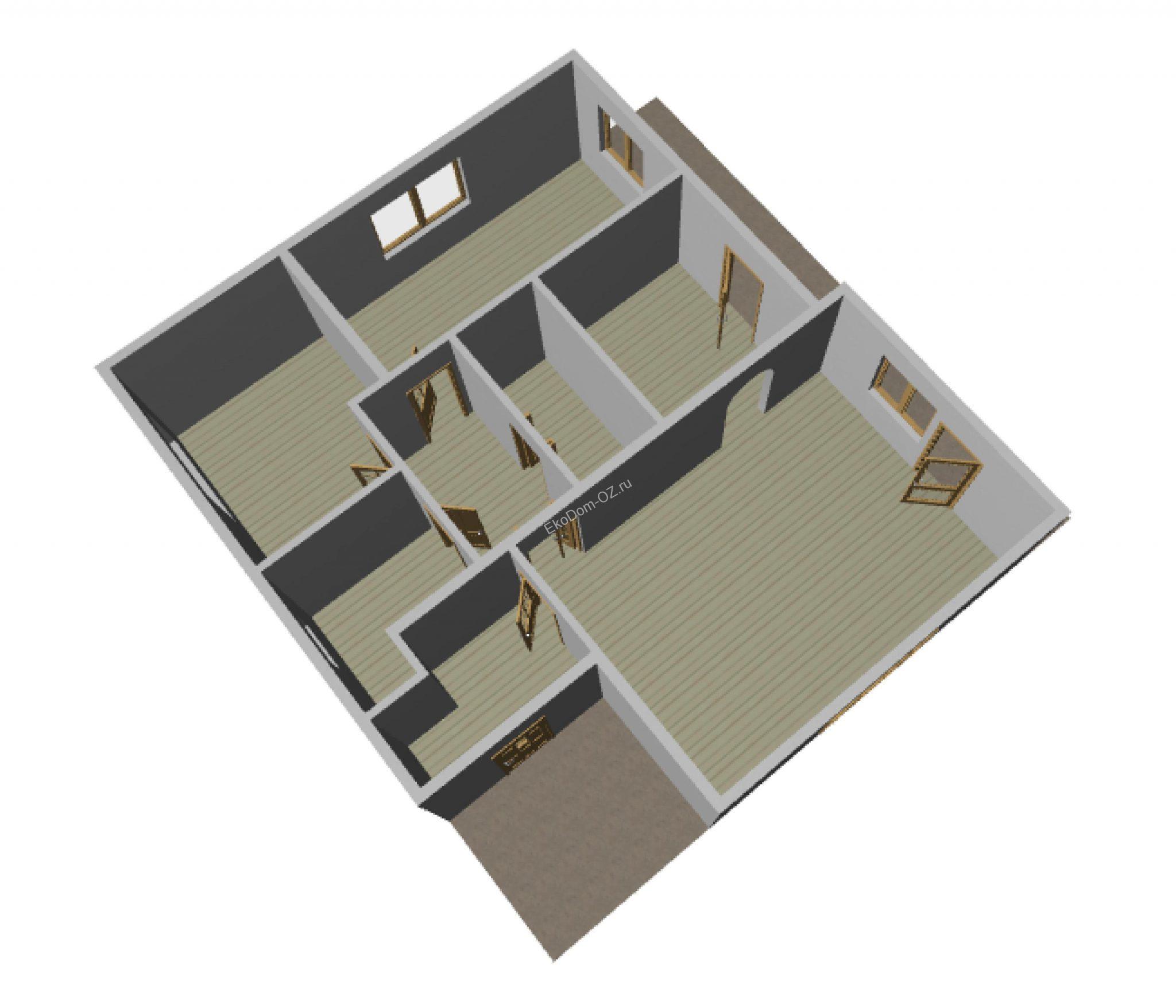 дом 128 м2