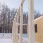 Дом из СИП панелей в СНТ Тетеринки, Новая Москва
