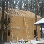 Дом для персонала из СИП панелей, Серпуховский район