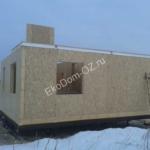 Дом из СИП панелей в д. Дуброво