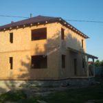 Дом из СИП панелей в г. Электрогорск