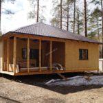 Дом из СИП панелей в г. Раменское