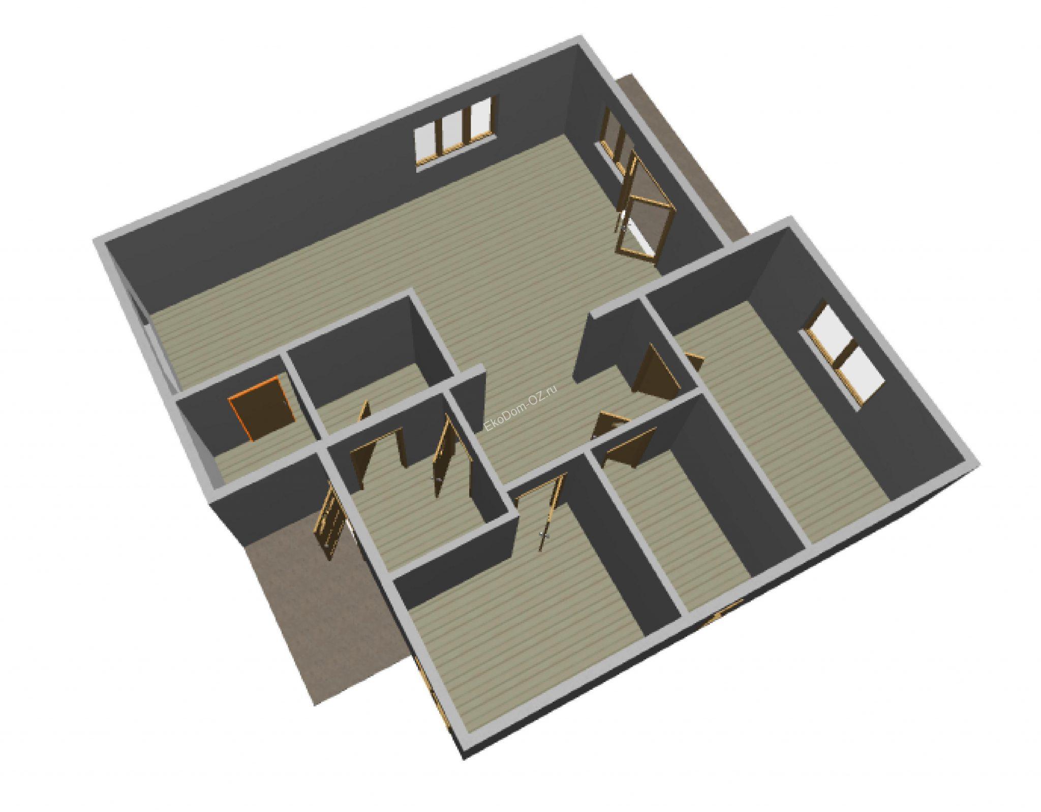 дом 121 м2