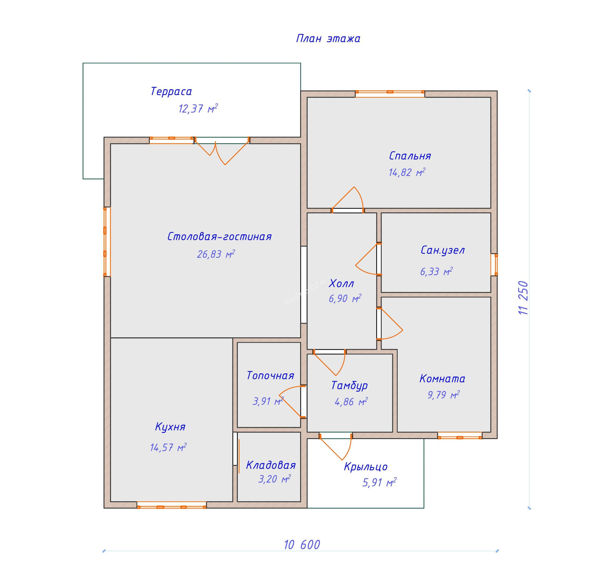 план этажа дом 121 м2