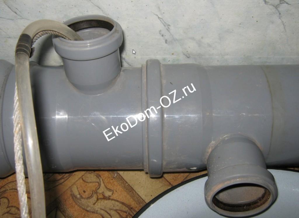 разморозка пластиковых труб водоснабжения