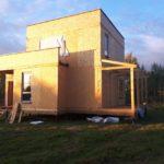 Дом из СИП панелей в Тверской области