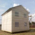 Двухэтажный дом из СИП панелей, д.Дубровка