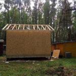 Здание для водозаборного узла из СИП панелей,Тверская область