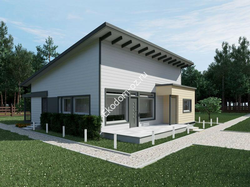 Проект дома F1-129