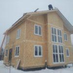 Дом из СИП панелей п. Горки, Ступинский район