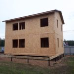 Дом из СИП панелей Раменский район, с.п. Рыболовское