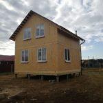 Дом из СИП панелей д. Малая Дубна, Московская обл.
