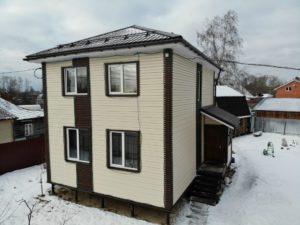 готовый дом из сип панелей 7