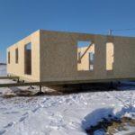 Дом из СИП панелей в г. Омск